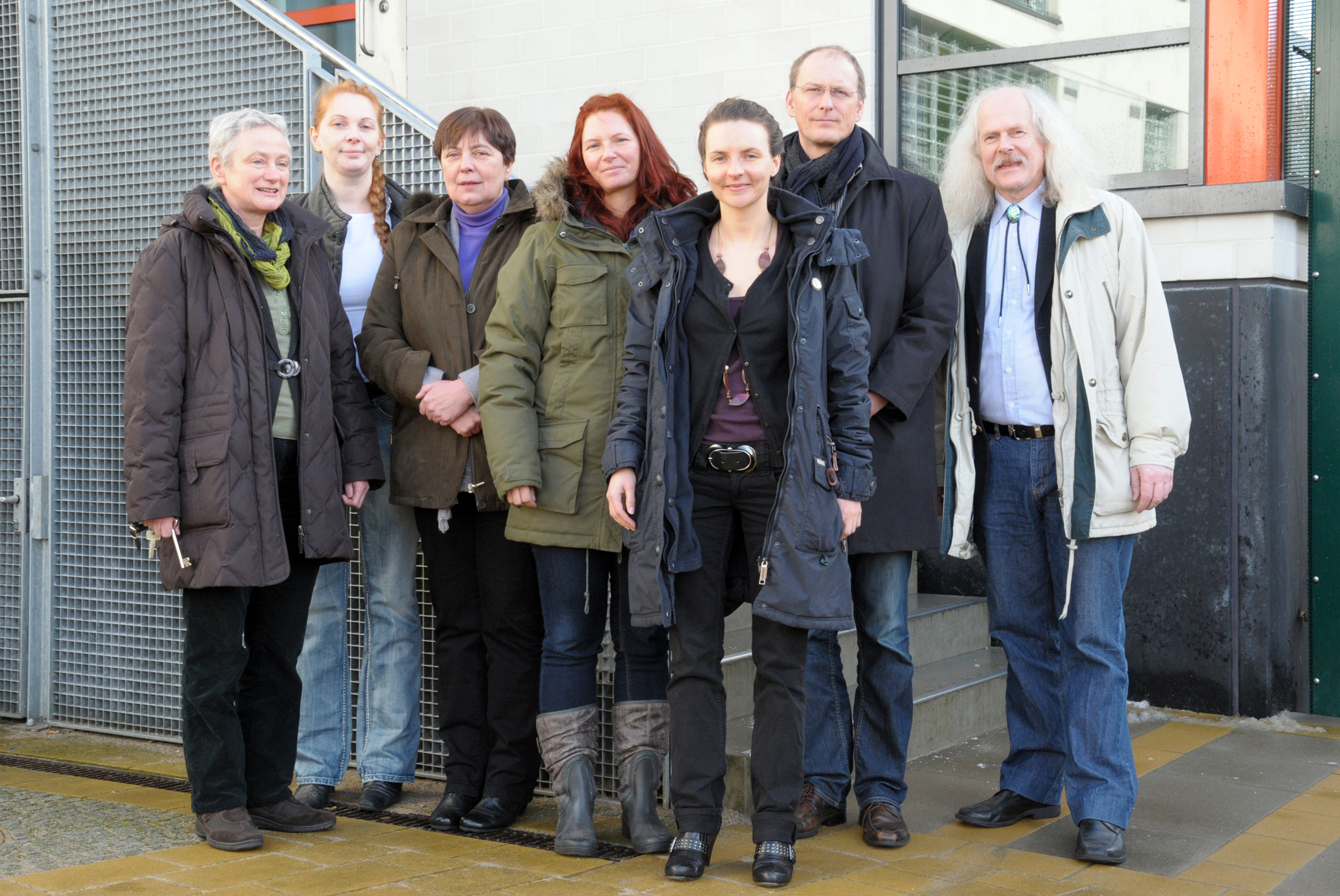 Pilot Project Team in Youth Prison Schleswig-Holstein (Germany)